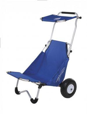 Bild für Beachbuggy und Transportwagen von Ascan mit Sitz und Sonnendach