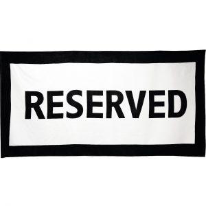 Bild für Strandhandtuch Reserved