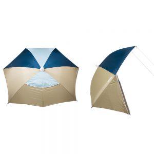 One-Move Strandmuschel zum Schutz vor Sonne und Wind
